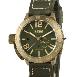 DOPPIOTEMPO 46 mm Bronze/Grøn